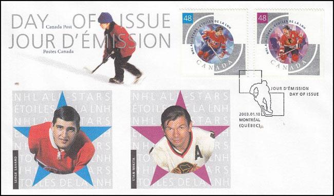 Slovaciká - Kanada - NHL ALL-STARS - Stan Mikita