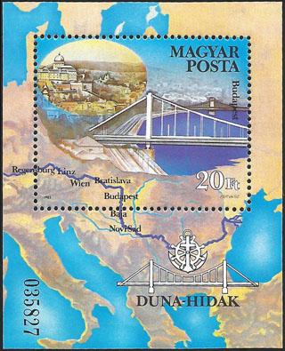 Slovaciká - Maďarsko - Dunajské mosty - Južné Slovensko, Bratislava, Dunaj