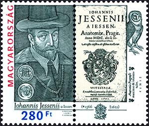 Slovaciká - Maďarsko - Spoločné vydanie s Českou republikou, Poľskom a Maďarskom - Ján Jessenius