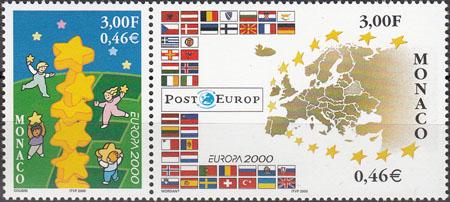 Slovaciká - Monako - EUROPA - Hranice Slovenska