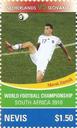 Slovaciká - Nevis - MS vo futbale 1990 - Marek Hamšík