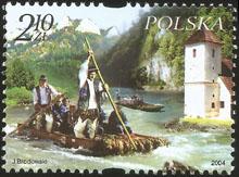 Slovaciká - Poľsko - Prírodné krásy a zaujímavosti - Pieniny a Dunajec