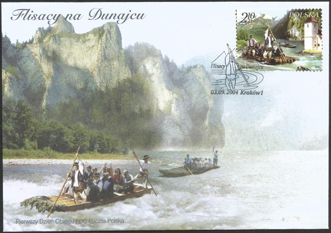 Slovaciká - Poľsko - Pltníci na Dunajci - Pieniny, Dunajec, Červený kláštor