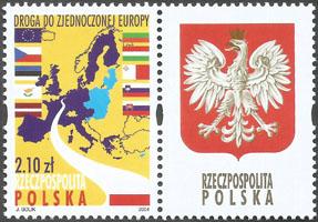 Slovaciká - Po¾sko - Vstup Slovenska do EÚ - Vlajka Slovenska, hranice Slovenska