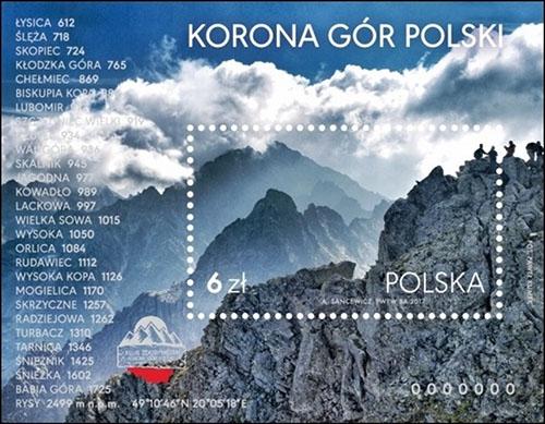Slovaciká - Poľsko - Koruna hôr Poľska - Rysy