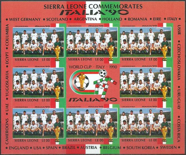 Slovaciká - Sierra Leone - MS vo futbale 1990 - ¼ubomír Moravèík