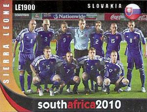 Slovaciká - Sierra Leone - MS vo futbale 2010 - Filip Hološko, Slovenski futbalisti