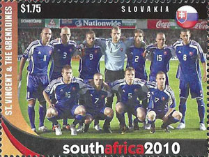 Slovaciká - Svätý Vincent & Grenadiny - MS vo futbale 2010 -  Slovenski futbalisti
