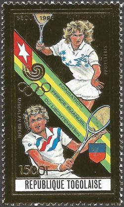 Slovaciká - Togo - LOH 1988 v Soule - Miloslav Mečíř