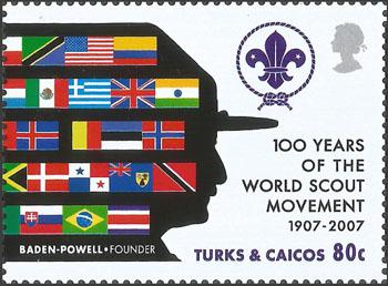 Slovaciká podľa krajín vydania - Amerika - Turks & Caicos