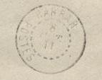 Známkové územia - Dire Dawa - miestna prítlač 1911