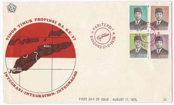 Postage stamp territories - East Timor